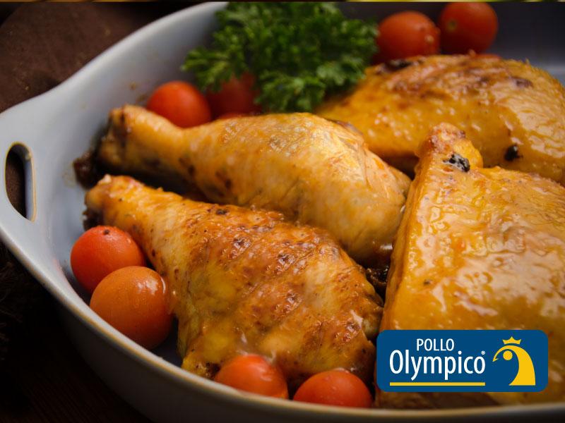 Pollo Picante con Glaseado de Albaricoque