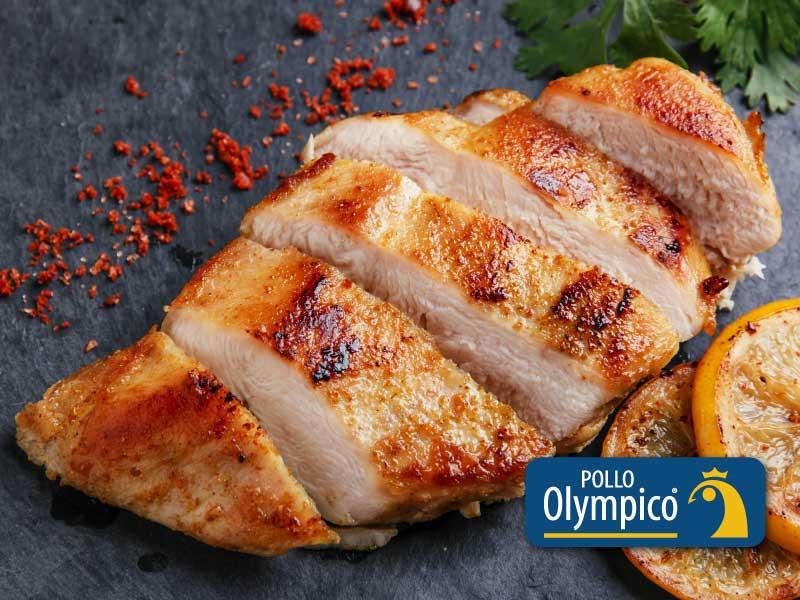 Pollo al limón y pimienta roja